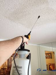 removing popcorn ceilings ceilings popcorn and water