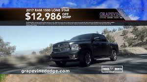 Grapevine Dodge Truck Month // March 2017 - YouTube New Ram 2500 Deals And Lease Offers Dodge Truck Leases 2017 Charger Month At Fields Chrysler Jeep 1500 Four What Ever Happened To The Affordable Pickup Feature Car Best 2018 31 Cool Dodge Truck Rebates Otoriyocecom 66 D100 Adrenaline Capsules Pinterest Mopar Larry H Miller Riverdale 2019 Refined Capability In A Fullsize Goanywhere Latest Ram 199 Per Month Lease 17 Sheboygan Ferman Cjd Tampa Fermancjdtampa Twitter The Worlds Newest Photos Of Logo Ram Flickr Hive Mind