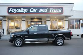 100 Used Dodge Truck Ram Pickup 1500 For Sale In Puyallup WA Puyallup Car