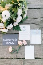 This Custom Invitation Suite From Willemina Typography And Bouquet By Rustic Roots Floral Farm Design