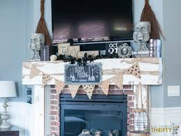 Halloween Fireplace Mantel Scarf by 100 Halloween Mantel Decorating Ideas Fall And Halloween