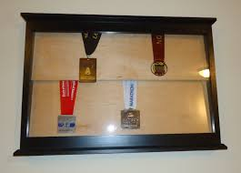 Sports Medal Display Case Wall Mounted Running Diva Mom Inview Designs Review Giveaway