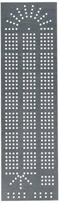 ChefwareKits 409 Cribbage Board 4 Lane Template Starter Kit Steel