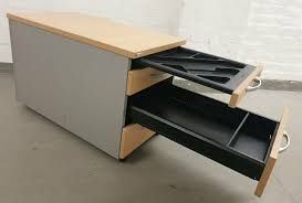14x schreibtisch palmberg caldo bürotisch rollcontainer büromöbel
