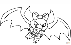 Monster High Nightmare Coloring Page