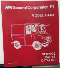 1975-76 AM General Corporation FJ-8A Small Delivery Truck Service ... Jamies 1960 Willys Pickup Truck The Build 197576 Am General Cporation Fj8a Small Delivery Service 6772 Chevy Parts Ebay Best Resource Dodge Cross Referencedodge Diagram 291955 Chevrolet Dealer Accsories Catalog Book Car Obsolete Ford Automotive Whosale Of Va 1947 Gmc Brothers Classic Canadaford Free 1951 Chevygmc 88 98 My Lifted Trucks Ideas