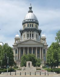 Illinois State Capitol Building, Springfield, Illinois. The Capitol ...