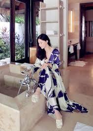 aliexpress com buy free shipping women u0027s long robe royal purple