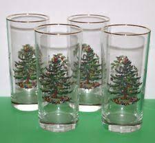 Spode Christmas Tree Glasses Uk by Spode Disney Ebay