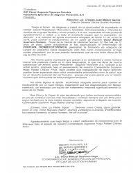 Carta De Agradecimiento 28062016 Seguros Horizonte SA