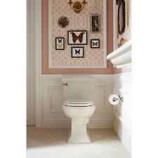 Kohler Memoirs Bidet Faucet by Kohler K 3813 0 Memoirs White One Piece Elongated Bowl Toilets