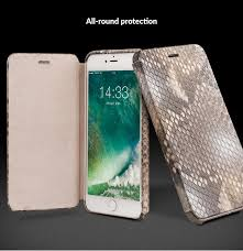 iPhone 8 Plus 7 Plus Diamond Python Skin Magnetic Flip Case