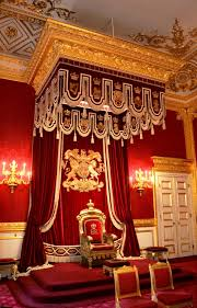 King Edwards Chair by The Throne Room At St James U0027s Palace London England The