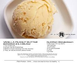 VANILLA PEANUT BUTTER BANANA ICE CREAM Picture SHAKEOLOGY MOUSSE