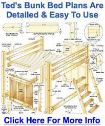 free building plans for loft beds friendly woodworking projects