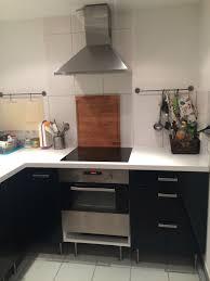ikea faktum küche incl elektrogeräte schwarz
