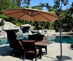 Patio Umbrella Offset 10 Hanging Umbrella by Backyard Patio Umbrellas Adjustable Market Offset