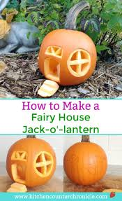 Fake Carvable Plastic Pumpkins by Best 25 Pumpkin Fairy House Ideas On Pinterest Diy Fairy House