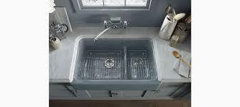 Kohler Whitehaven Farmhouse Sink by Standard Plumbing Supply Product Kohler K 6427 Ka Whitehaven