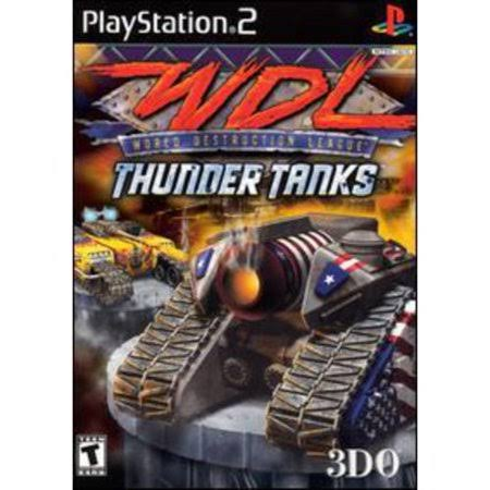 WDL: Thunder Tanks - PlayStation 2