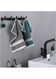 cglovewyl handtuchhalter für badezimmer schwarz weiß robe