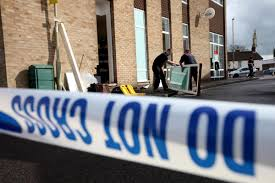 siege hsbc hsbc bank in hedge end that was targeted by ram raiders to