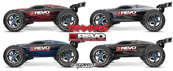 100 Revo Rc Truck Traxxas 110 E Brushless Electric RC 4WD Monster TSM RTR