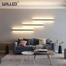 nordic minimalistischen lange streifen wand le moderne led wand leuchte schlafzimmer nacht wohnzimmer wandl treppen wand leuchte