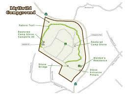 Map Of CCC Heritage Tour Features Mt San Jacinto SP