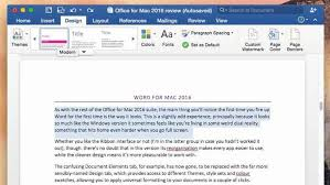 Review Microsoft fice 2016 for Mac fice Suite PC & Tech