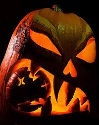 Scariest Pumpkin Carving Patterns by 30 Crazy Cool Halloween Pumpkins