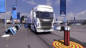 Scania Truck Driving Simulator: The Game (2013) Promotional Art ...