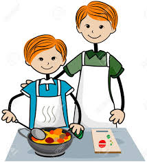 Kids Cooking Clipart 30442