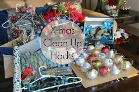 Christmas Tree Storage Bin Plastic by Christmas Clean Up Hacks 7 Tips For Storage Ornaments Lights