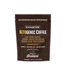 Rapid FireTM Ketogenic Coffee