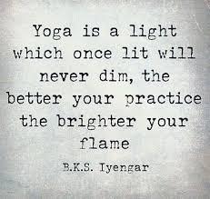 Keep Your Yoga Flame Lit Always