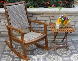 Solid Wood Outdoor & Patio Furntiure Woven Rope Midcentury Modern Rocking Chair And Ottoman At 1stdibs Polywood Presidential Rocker With Seat Back Classic Outdoor Wicker Off The A Brief History Of One Americas Favorite Chairs Cracker Barrel Spring Haven Brown Allweather Patio Polywood Jefferson Recycled Plastic Cushions Accsories White Veranda Balcony Deck Porch Pool Beach Allen Roth Belsay Dark Steel Tortuga Portside Wickercom Solid Wood Fntiure