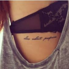 Tattoo Ribs Lace Alis Volat Propriis She Flies With Her Own Wings If I Was Gonna Get A