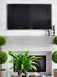 How To Put In A Gas Fireplace by Installing A Tv Above The Fireplace Hgtv