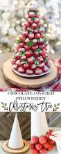 Rice Krispie Christmas Tree Treat Recipe by Christmas Desserts Chocolate Covered Strawberry Christmas Tree