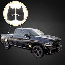 100 2014 Dodge Trucks Ram Splash Mud Flaps Guards Front Rear 4 Piece Set
