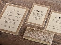 Rustic Wedding Invitation As Elegant Sample To Make Perfect Invitations Layout