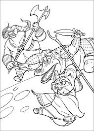 Free Kung Fu Panda Coloring Sheets Kungfu Colouring Pages Online 29 2