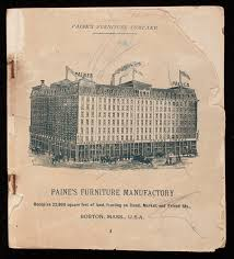 Statesville Furniture Company History by Catalog Paine U0027s Furniture Company Canal Market And Friend