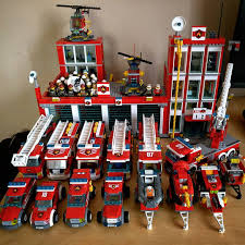 100 How To Build A Lego Fire Truck Station 12 Ready For Duty D 60004 And 60110 Combined My