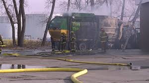 100 Garbage Truck Tab Truck Explodes At KCK Gas Station No One Injured FOX 4