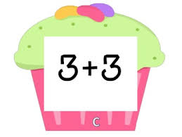 Cupcake Walk Doubles Addition Facts