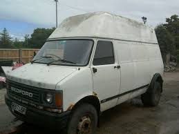 Bedford CF2 Van: Ebay: CF2/350 4x4 Hightop Panel Van - UK