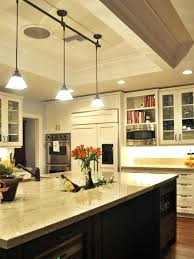 kitchen island track lighting ideas light fixtures for and
