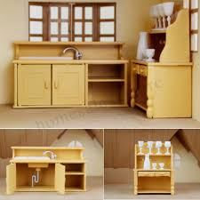 Diy Dollhouse Miniature Wooden Furniture Led Kit Japanese Style